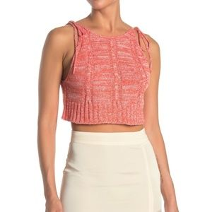 Free People Bombshell Knit Crop Top- New with Tags
